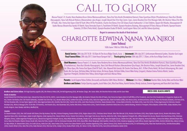 Funerals In Ghana, First Funeral Website in Ghana,Ghana ...